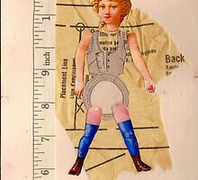 Anatomy of a doll 9 by Thelma Van Rensburg