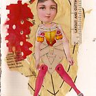 Anatomy of a doll 11 by Thelma Van Rensburg