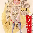 Anatomy of a doll 13 by Thelma Van Rensburg