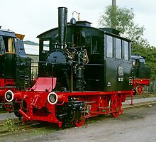 Steam locomotives at Bochum, 1985. by David A. L. Davies