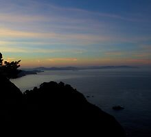 Pacific Coast Highway at Sunrise by zen107
