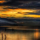 Golden Hour on Loch Ness by Fraser Ross