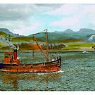 Colonsay in the Firth of Clyde by WILT