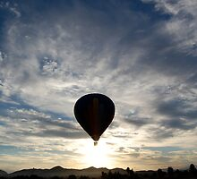 Morning Balloon Ride by Micah Sampson