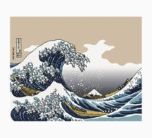The Great Wave Off Katagawa by Tigerpig