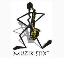 Saxie - Muzik Stix Collection by Kimberly E Banks