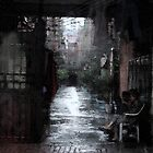 Beijing Alley by Christine &quot;Xine&quot; Segalas