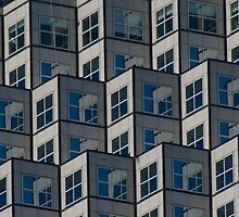 High Rise,  Window On Window by phil decocco