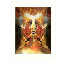 ARE YOU READY TO BURN ? Art Print