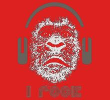 "Gorilla ""I Rock"" by taiche"