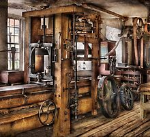 Steam Punk - The Press by Mike  Savad