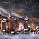 Winter - Clinton, NJ - Silent Night  by Mike  Savad