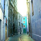 Blue Alleyway by magicaltrails