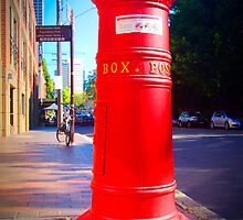 old skool post box by Anna Vegter