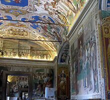 Inside the Sistine Chapel by Darrell-photos