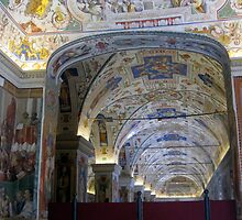 Inside the Sistine Chapel 1 by Darrell-photos