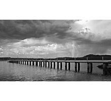 Saratoga Storm Photographic Print