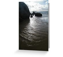 Trilobite Wave at Wilson's Promontory Greeting Card