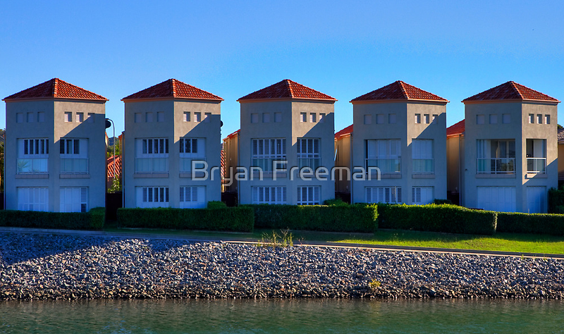 Five of a Kind | Settlement City | Port Macquarie | Australia by Bryan Freeman