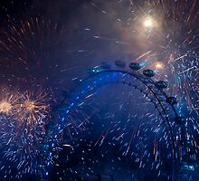 Fireworks in London by Nando MacHado