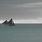 Two Sails by Jim  Paredes