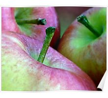 Three Apples a Day Poster