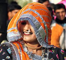 The beauty from Rajasthan,India. by debjyotinayak
