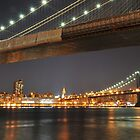 Brooklyn and Manhattan Bridge by Shutter and Smile Photography