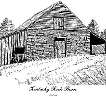 Kentucky Rock Barn by william clyde tippie