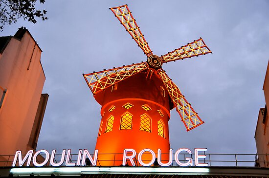 Moulin Rouge - Paris, France by Shutter and Smile Photography