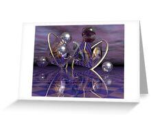 A geometric magical world Greeting Card