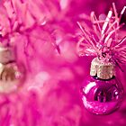 Pink baubles by Zoë Power