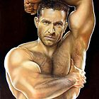 Adam Champ Color Pencil @ www.KeithMcDowellArtist.com  by © Keith McDowell, Artist