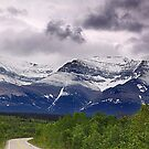 Chief Mountain Road by Jann Ashworth