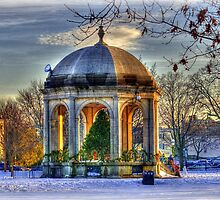 Festive Season at Salem Common by Monica M. Scanlan