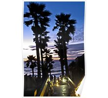 leucadia sunset 2 Poster