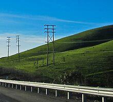 ten pole hill by Bruce  Dickson