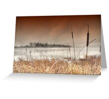 ..mantled in mist... Greeting Card