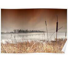 ..mantled in mist... Poster