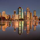 Brisbane reflection 2 by Chris Lofqvist
