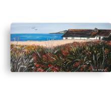 Seaview Cottage Canvas Print