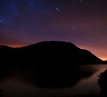 Star trails over Buttermere by johnfinney