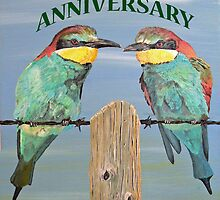 HAPPY ANNIVERSARY  by Eric Kempson