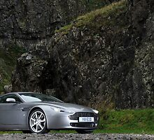 V8 Vantage Shot on Location in Cheddar Gorge ... by M-Pics