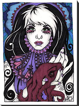 Lil Miss Deep Sea by Lynette K.