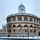 The Sheldonian Theatre, Oxford by Karen Martin