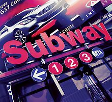 Subway Sign by zinchik