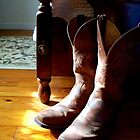 Cowboy Boots 'made for walkin' by Rick Short