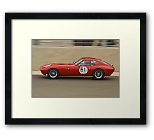 Streamlined Morgan SLR Framed Print
