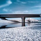 Highway bridge in IR by teva-art